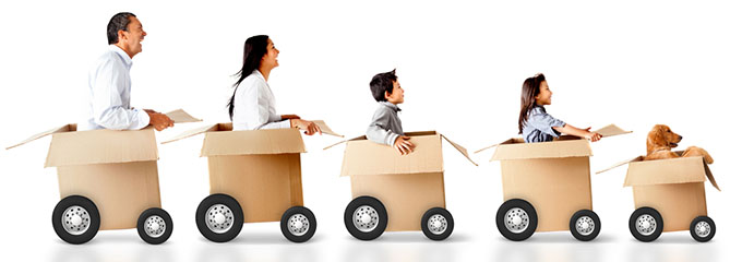Tips for moving house or business
