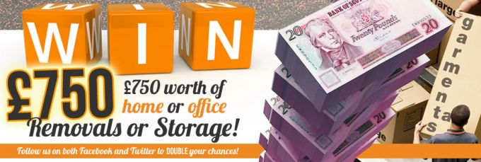 Win £750 of removals or storage